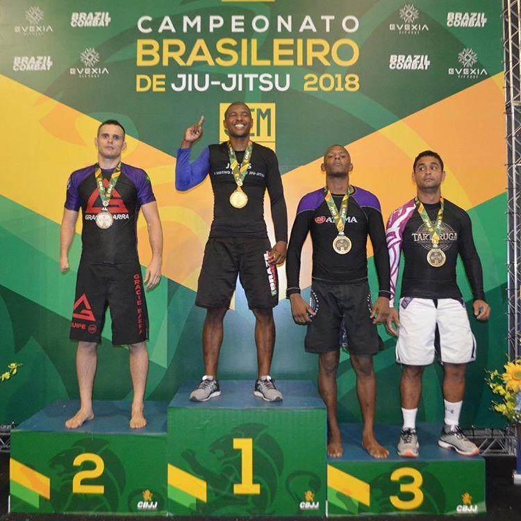 Manfre Vice Campeão Brasileiro Sem Kimono 2018